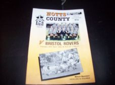 Notts County v Bristol Rovers, 1989/90 [apr]